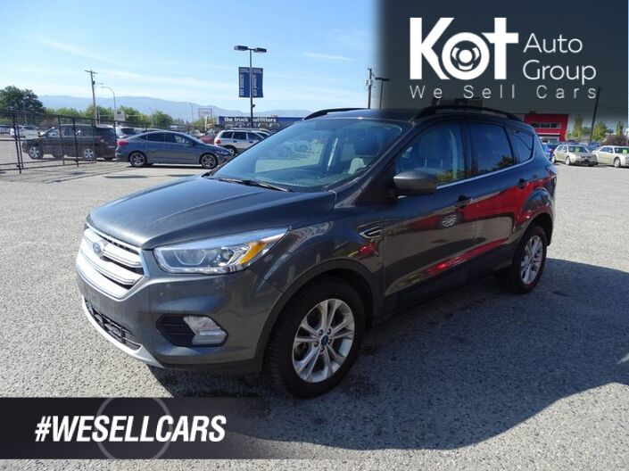 2017 Ford Escape SE, Bluetooth, Fuel Efficient and Reliable, Heated Seats, Back-Up Camera Kelowna BC