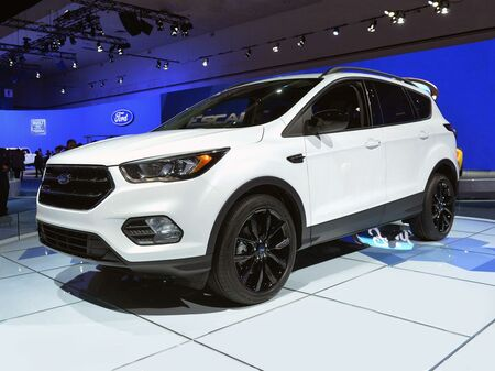 2017_Ford_Escape_SE_ Delmar DE