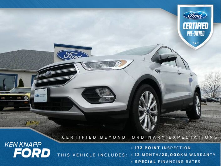 2017 Ford Escape Titanium- NAVIGTION- SUNROOF- 4X4- 2.0L- LOADED Essex ON