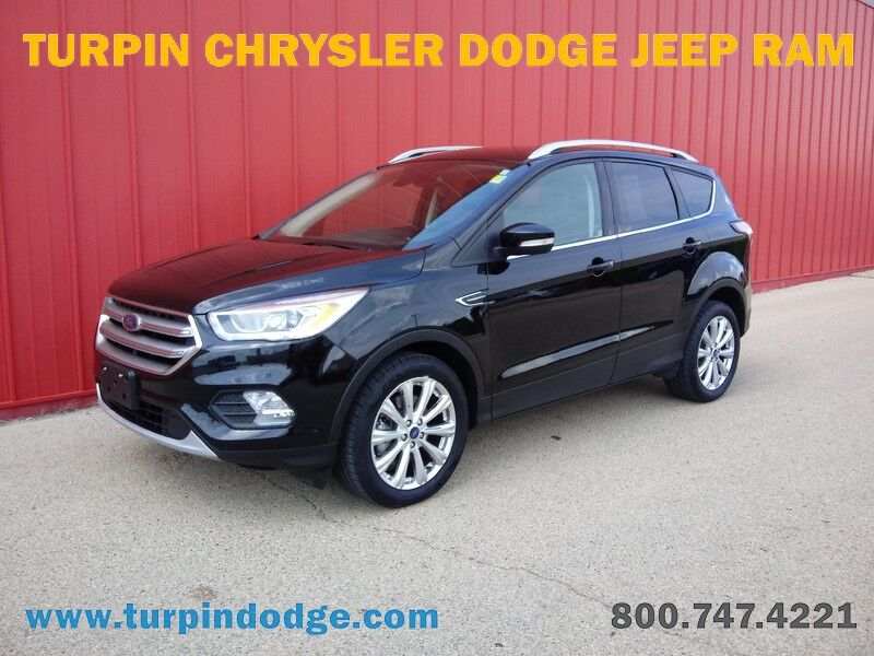 2017 Ford Escape Titanium Dubuque IA