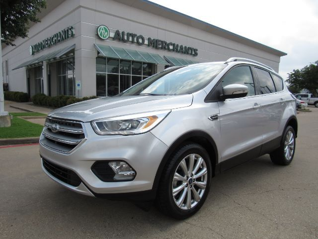 2017 Ford Escape Titanium FWD LEATHER, BACKUP CAMERA, NAVIGATION, BLUETOOTH CONNECTIVITY, HTD FR STS, DOOR CODE ENTRY Plano TX