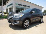 2017 Ford Escape Titanium FWD LEATHER, SUNROOF, BLIND SPOT MONITOR, HTD FRONT SEATS, BLUETOOTH CONNECTIVITY