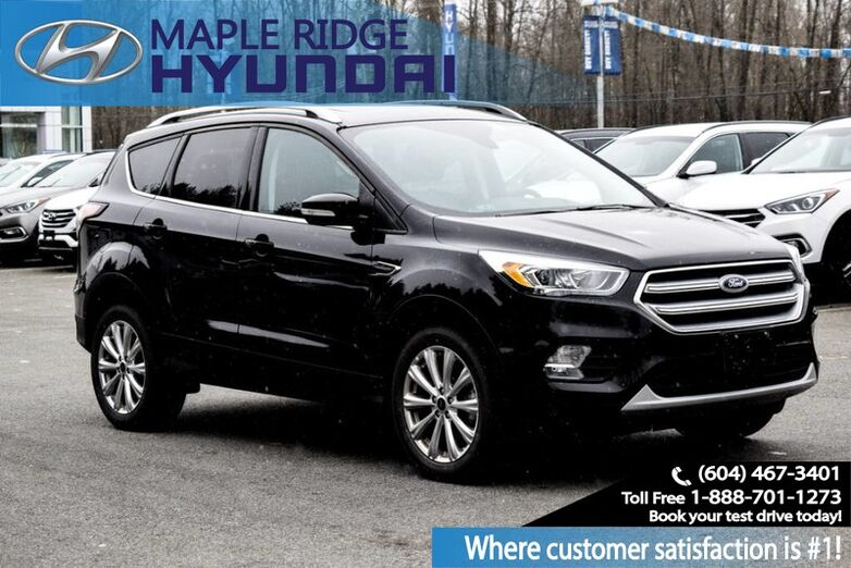 2017 Ford Escape Titanium Maple Ridge BC