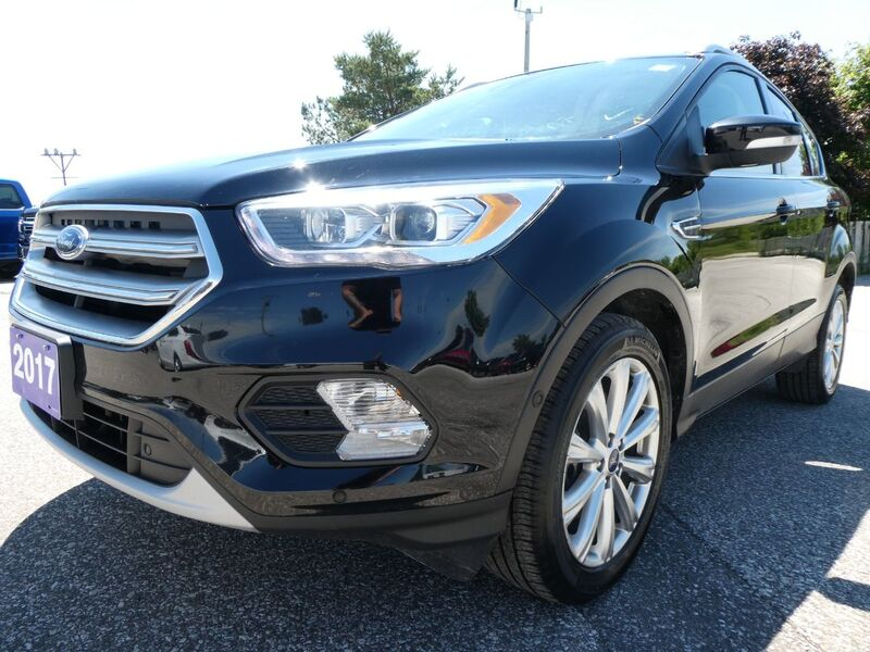 2017 Ford Escape Titanium Panoramic Roof Remote Start Navigation Essex ON