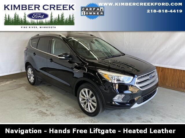 2017 Ford Escape Titanium Pine River MN