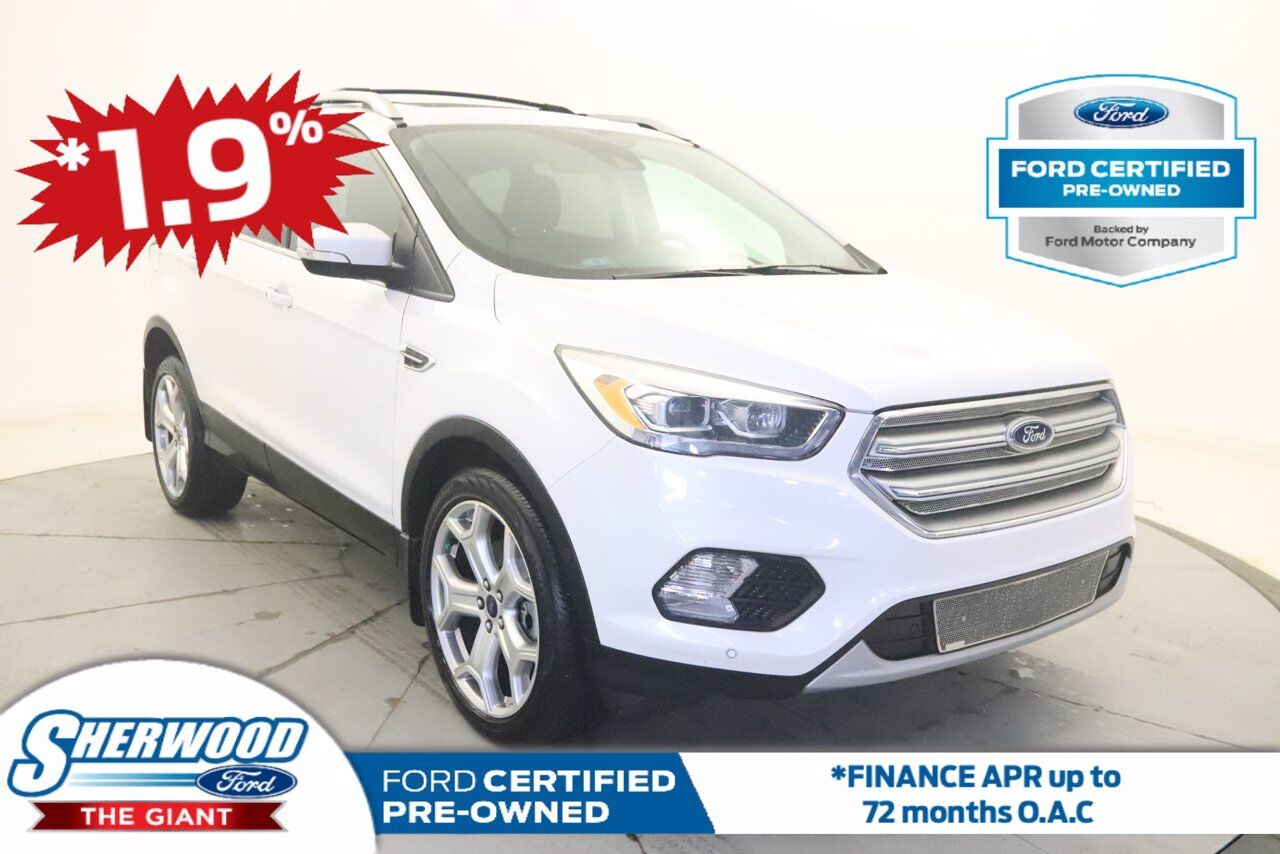 2017 Ford Escape Titanium Sherwood Park AB