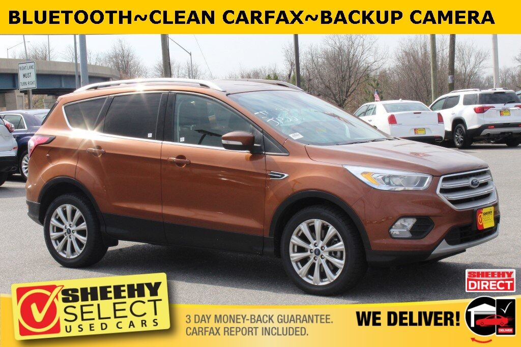 2017 Ford Escape Titanium Suitland MD