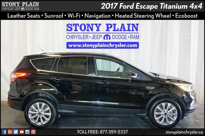 2017 Ford Escape Titanium Stony Plain AB