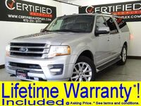 Ford Expedition EL LIMITED 4WD APPLE CARPLAY ANDROID AUTO LEATHER HEATED/COOLED SEATS 2017