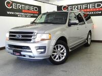 Ford Expedition EL Limited Ecoboost Navigation Rear Camera Heated Cooled Leather Seats 3RD Row 2017