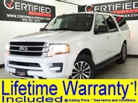 Ford Expedition EL XLT ECOBOOST SUNROOF REAR CAMERA REAR PARKING AID 3RD ROW SEAT BLUETOOTH 2017