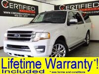 Ford Expedition LIMITED 4WD NAVIGATION SUNROOF LEATHER HEATED/COOLED SEATS REAR CAMERA 2017