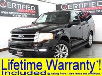 Ford Expedition LIMITED ECOBOOST 4WD NAVIGATION REAR CAMERA PARK ASSIST HEATED COOLED LEATH 2017