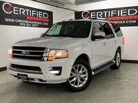 Ford Expedition LIMITED ECOBOOST NAVIGATION SUNROOF 2ND ROW CAPTAIN CHAIRS REAR CAMERA PARK 2017