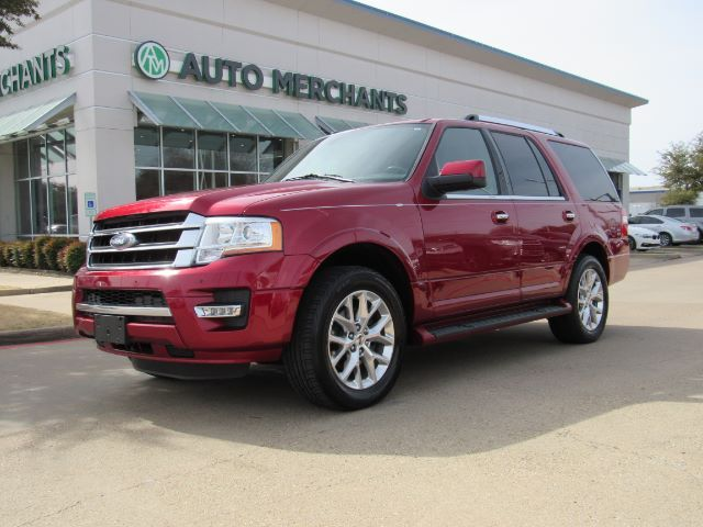 2017 Ford Expedition Limited 2WD  LEATHER SEATS, NAVIGATION SYSTEM, REMOTE START ENGINE, REAR PARKING AID Plano TX