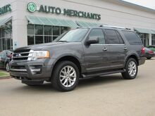 2017_Ford_Expedition_Limited 4WD NAV, HTD/COOLED STS, CAPT CHAIR, PWR LIFT, BACKUP CAM, BLUETOOTH, APPLE CARPLAY_ Plano TX