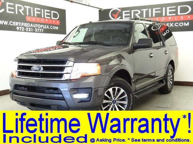 2017 Ford Expedition Xlt Ecoboost Sunroof Rear Camera Rear