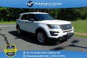 2017 Ford Explorer 3rd Row  ** Pohanka Certified 10 Year / 100,000  **