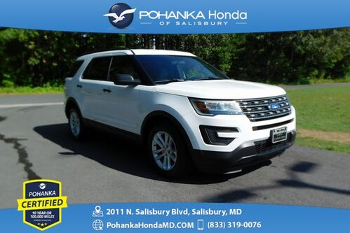 2017_Ford_Explorer_3rd Row  ** Pohanka Certified 10 Year / 100,000  **_ Salisbury MD