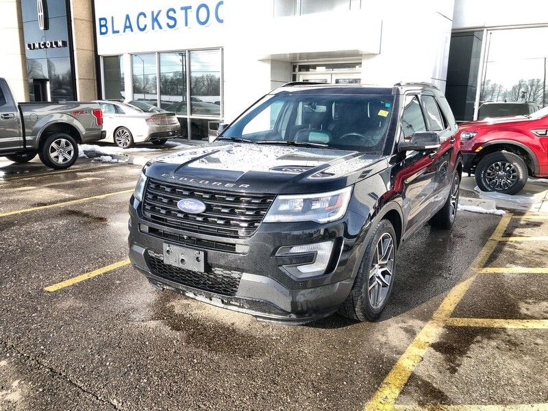 2017 Ford Explorer 4WD Sport-One Owner Trade-Accident Free-Navigation-Leather Mono ON