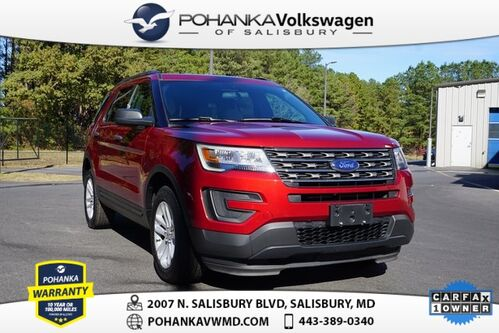 2017_Ford_Explorer_4X4 ** CLEAN CARFAX ** ECOBOOST ** THIRD ROW **_ Salisbury MD