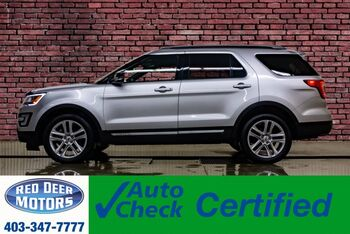 2017_Ford_Explorer_AWD XLT Leather Roof Nav BCam_ Red Deer AB