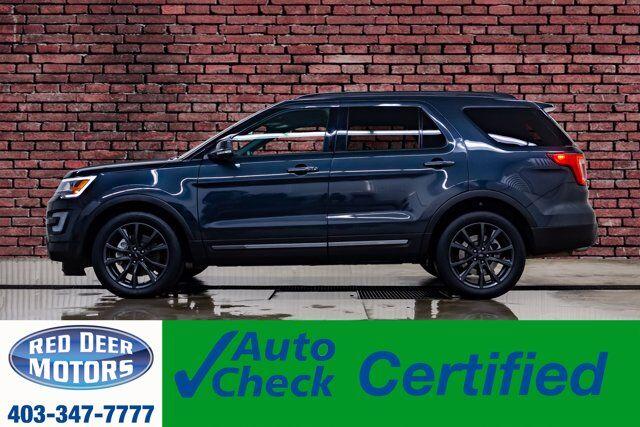 2017 Ford Explorer AWD XLT Nav BCam Red Deer AB