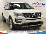 2017 Ford Explorer LIMITED 4WD NAVIGATION PANORAMA PARALLEL PARK ASSIST KEYLESS START