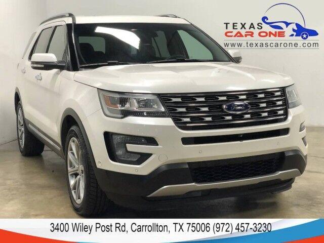 2017 Ford Explorer LIMITED 4WD NAVIGATION PANORAMA PARALLEL PARK ASSIST KEYLESS START Carrollton TX