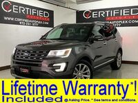 Ford Explorer LIMITED NAVIGATION FRONT AND REAR CAMERA PARK ASSIST HEATED COOLED LEATHER 2017
