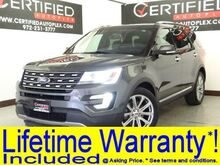 2017_Ford_Explorer_LIMITED NAVIGATION REAR CAMERA PARK ASSIST HEATED COOLED LEATHER SEATS APPL_ Carrollton TX