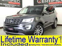 Ford Explorer LIMITED NAVIGATION REAR CAMERA PARK ASSIST HEATED COOLED LEATHER SEATS BLUE 2017