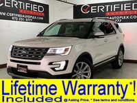Ford Explorer LIMITED NAVIGATION REAR CAMERA PARK ASSIST HEATED COOLED LEATHER SEATS SMAR 2017