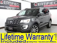 Ford Explorer LIMITED NAVIGATION SUNROOF REAR CAMERA PARK ASSIST HEATED COOLED LEATHER 2017