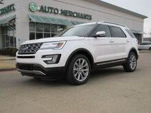 2017_Ford_Explorer_Limited 4WD LEATHER SEATS, NAVIGATION, BACKUP CAMERA, HEATED AND COOLED FRONT SEATS_ Plano TX