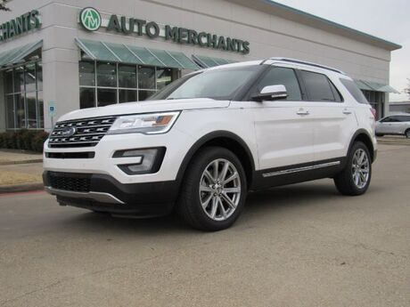 2017 Ford Explorer Limited 4WD LEATHER SEATS, NAVIGATION, BACKUP CAMERA, HEATED AND COOLED FRONT SEATS Plano TX