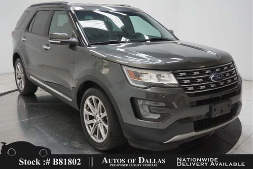 2017_Ford_Explorer_Limited NAV,CAM,CLMT STS,PARK ASST,20IN WLS,3RD RO_ Plano TX