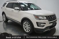 Ford Explorer Limited NAV,CAM,CLMT STS,PARK AST,20IN WLS,3RD ROW 2017