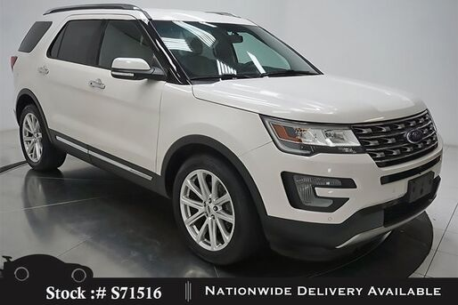 2017_Ford_Explorer_Limited NAV,CAM,CLMT STS,PARK AST,20IN WLS,3RD ROW_ Plano TX
