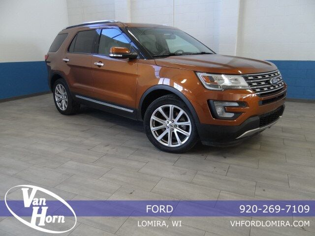 2017 Ford Explorer Limited Plymouth WI
