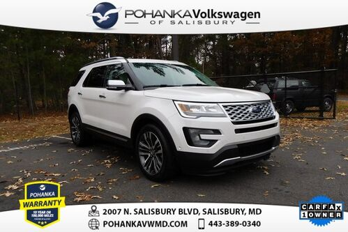 2017_Ford_Explorer_Platinum ** LEATHER ** NAVIGATION ** SUNROOF **_ Salisbury MD