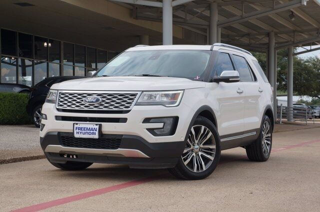 2017 Ford Explorer Platinum Irving TX