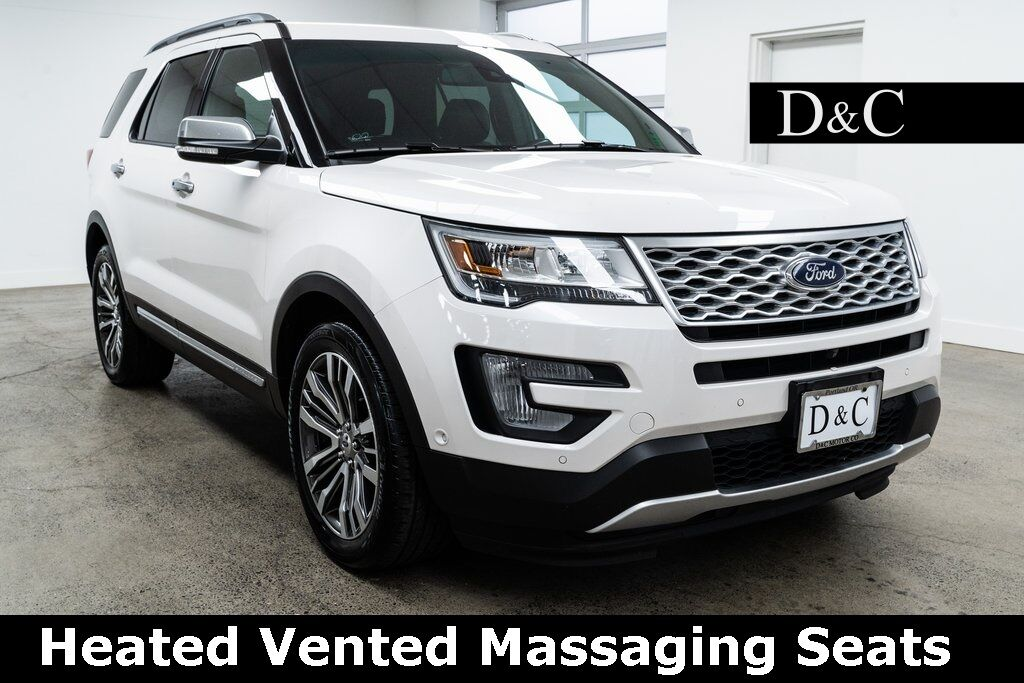2017 Ford Explorer Platinum Heated Vented Massaging Seats Portland OR