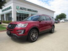 2017_Ford_Explorer_Sport 4WD LEATHER, DUAL SUNROOF, NAVIGATION, BACKUP CAMERA, MULTI DRIVABILITY, 3RD ROW SEATING_ Plano TX