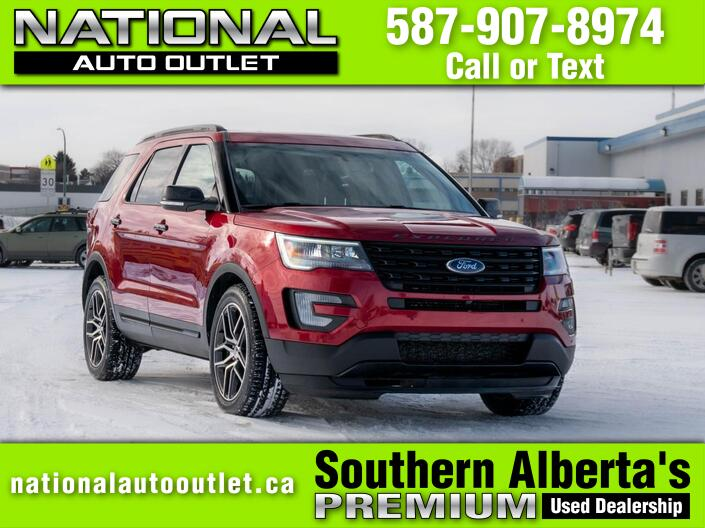 2017 Ford Explorer Sport Lethbridge AB