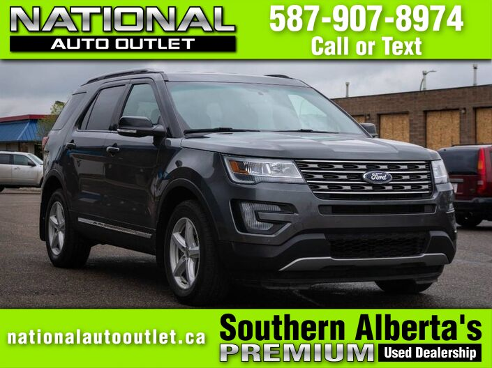 2017 Ford Explorer XLT - CLEAN CARFAX - HEATED CLOTH SEATS Lethbridge AB