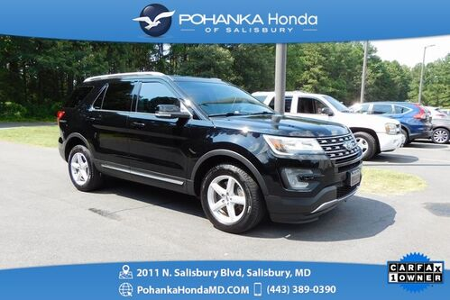 2017_Ford_Explorer_XLT ** AWD ** GUARANTEED FINANCING ** ONE OWNER **_ Salisbury MD