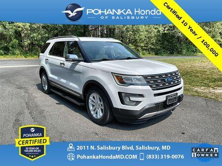 2017_Ford_Explorer_XLT ** Pohanka Certified 10 Year / 100,000  **_ Salisbury MD