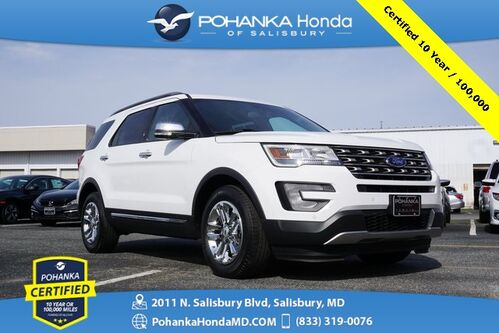 2017_Ford_Explorer_XLT ** Pohanka Certified 10 Year / 100,000  **_ Salisbury MD