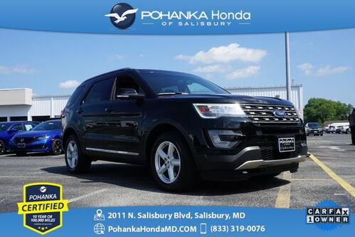 2017_Ford_Explorer_XLT 4WD ** Pohanka Certified 10 Year / 100,000 **_ Salisbury MD